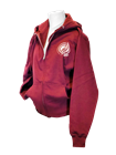 Verdes Zip-Up Maroon