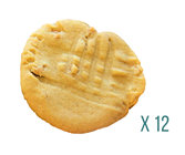960mg Peanut Butter Cookie Pack